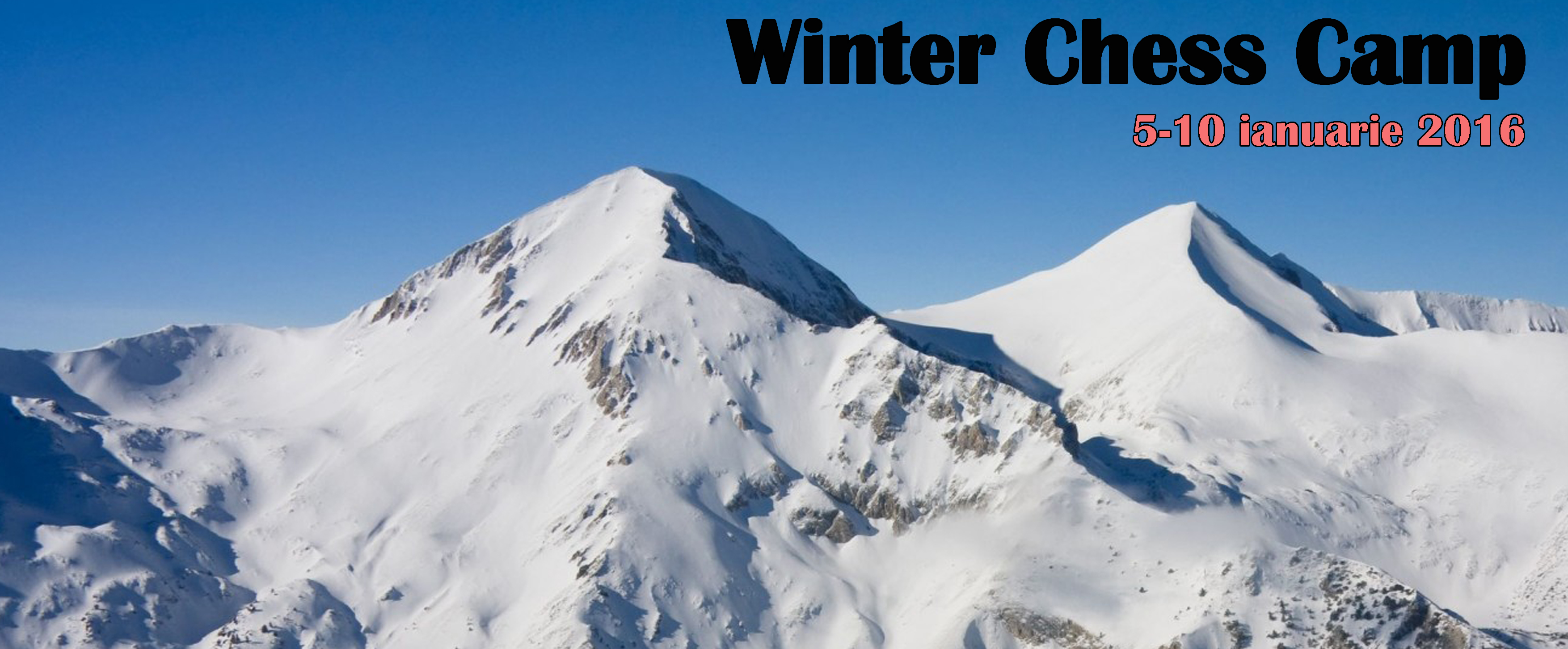 Winter Chess Camp – Tabara de Sah si Germana!