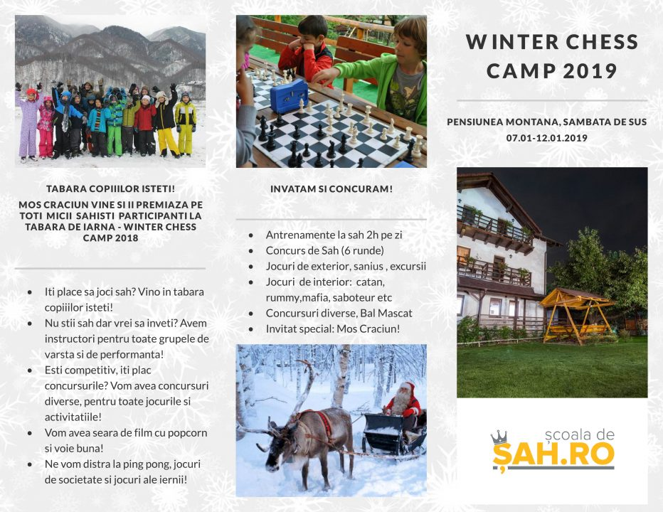 Winter Chess Camp 2019