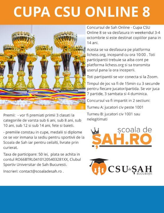 Cupa CSU Online 8