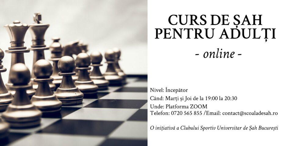 Curs de Șah pentru Adulți